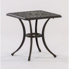 Roma Square Cast Aluminum Side Table