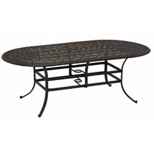 Windsor  Oval Cast Aluminum Dining Table