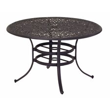 Windsor Round Cast Aluminum Dining Table