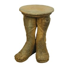 Furniture Roman Feet Outdoor Side Table