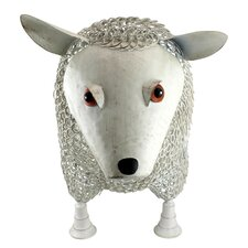 Sheep Settee Sculptural Metal Garden Bench