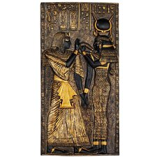 Egyptian Temple Stele Isis Wall Décor