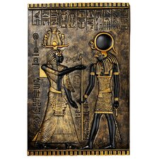 Egyptian Temple Stele Horus Wall Décor