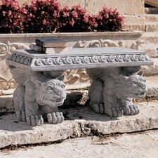 Blair Castle Gargoyle Stone Garden Bench