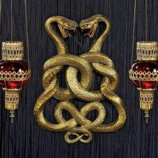 Egyptian Infinity Cobra Twins Wall Décor