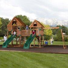 Vista Cedar All Cedar Swing Set