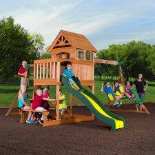 Springboro All Cedar Swing Set