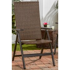 Wicker Outdoor Reclining Chair