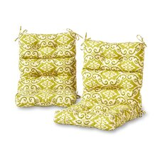 Shoreham High Back Outdoor Lounge Chair Cushion (Set of 2)