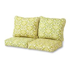 Shoreham 4 Piece Outdoor Loveseat Cushion Set