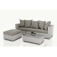 Renava Reef 3 Piece Deep Seating Group with Cushions