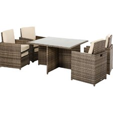 Renava Barcelona 9 Piece Deep Seating Group