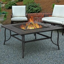 Chelsea Wood Burning Fire Pit Table