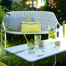 Croisette Aluminum Garden Bench