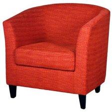 Sheri Fabric Barrel Chair