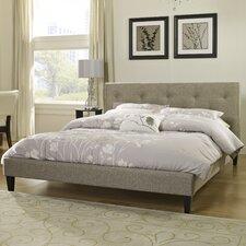 Upholstered Platform Bed  Eco-Lux
