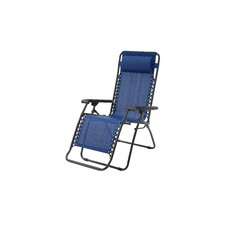 Lizkona Gavin Zero Gravity Patio Lounge Chair with Cushion (Set of 2)