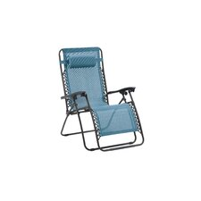 Lizkona Nichole Zero Gravity Patio Lounge Chair with Cushion (Set of 2)