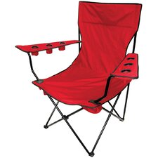 Amazing Outdoor Giant Kingpin Folding Chair in Red