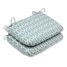 Modern Rhodes Outdoor Seat Cushion (Set of 2)