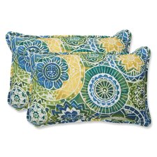 Omnia Indoor/Outdoor Throw Pillow (Set of 2)