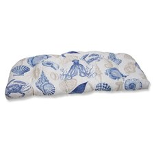 Sealife Outdoor Loveseat Cushion