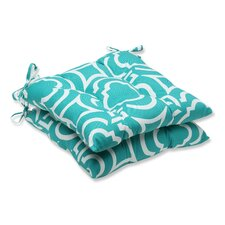 Carmody Outdoor Dining Chair Cushion (Set of 2)