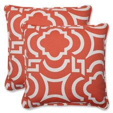 Carmody Indoor/Outdoor Throw Pillow (Set of 2)