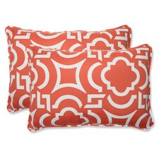 Carmody Indoor/Outdoor Lumbar Pillow (Set of 2)