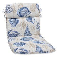 Sealife Outdoor Lounge Chair Cushion