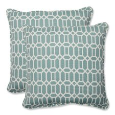 Rhodes Indoor/Outdoor Throw Pillow (Set of 2)