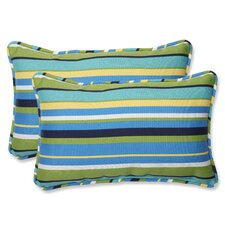 Topanga Indoor/Outdoor Lumbar Pillow (Set of 2)