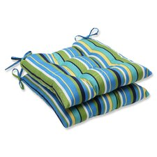 Topanga Outdoor Dining Chair Cushion (Set of 2)