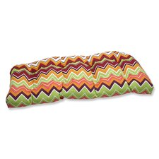 Zig Zag Outdoor Loveseat Cushion