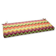 Zig Zag Outdoor Bench Cushion