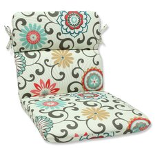 Pom Pom Play Outdoor Chair Cushion