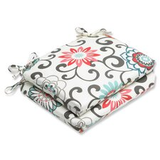 Pom Pom Play Outdoor Seat Cushion (Set of 2)