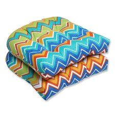 Zig Zag Outdoor Seat Cushion (Set of 2)