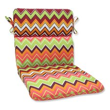 Zig Zag Outdoor Lounge Chair Cushion
