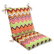 Zig Zag Outdoor Chair Cushion