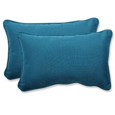 Spectrum Indoor/Outdoor Sunbrella Lumbar Pillow (Set of 2)