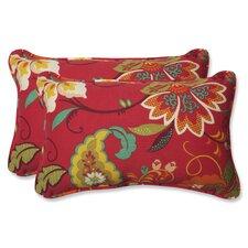 Tamariu Alfresco Valencia Indoor/Outdoor Lumbar Pillow (Set of 2)