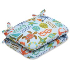 Wonderful Seapoint Outdoor Dining Chair Cushion (Set of 2)