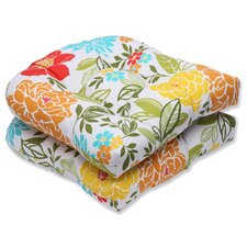 Spring Bling Outdoor Dining Chair Cushion (Set of 2)