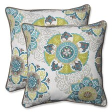 Allodala Oasis Indoor/Outdoor Throw Pillow (Set of 2)