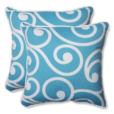 Best Indoor/Outdoor Throw Pillow (Set of 2)