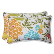 Spring Bling Indoor/Outdoor Lumbar Pillow (Set of 2)