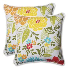 Spring Bling Indoor/Outdoor Throw Pillow (Set of 2)