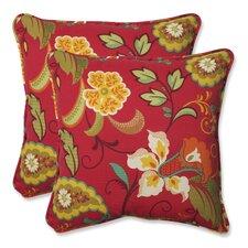 Tamariu Alfresco Valencia Indoor/Outdoor Throw Pillow (Set of 2)