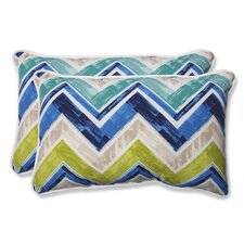 Marquesa Marine Indoor/Outdoor Lumbar Pillow (Set of 2)